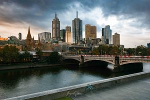 Melbourne, Southbank, Brad Geddes Photography, Melbourne City, Melbourne Landscape, Cityscape, Landscape, Melbourne Photographer, Moody, Melbourne Wall Art