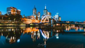 Melbourne, Southbank, Brad Geddes Photography, Melbourne City, Melbourne Landscape, Cityscape, Landscape, Melbourne Photographer, Melbourne Nights, Melbourne Wall Art, Ponyfish Island, Southbank Night