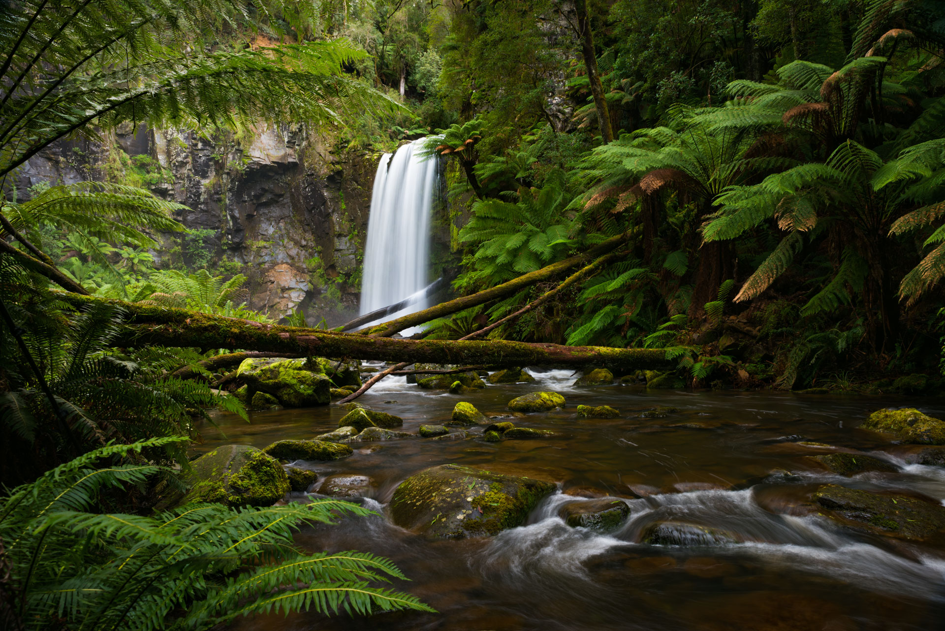 Landscape, Waterfall, Hopetoun Falls, Great Ocean Road, Rainforest, Visit Victoria, Tourism Australia, Brad Geddes Photography, Brad Geddes, Melbourne Photographer, Melbourne Landscape Photographer, Long Exposure