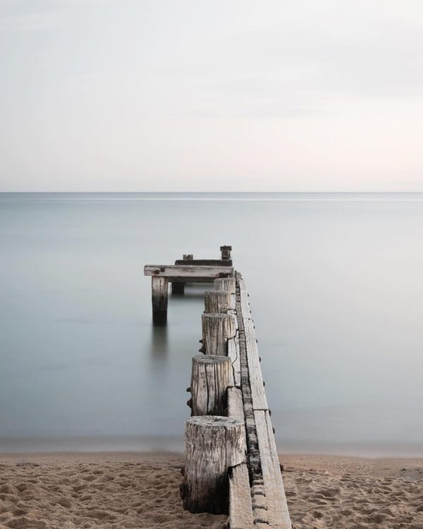 Seascape, wall art, Mentone, Beach, Pier, Brad Geddes, Brad Geddes Photography, Calm, Long Exposure, Peaceful, beach, ocean