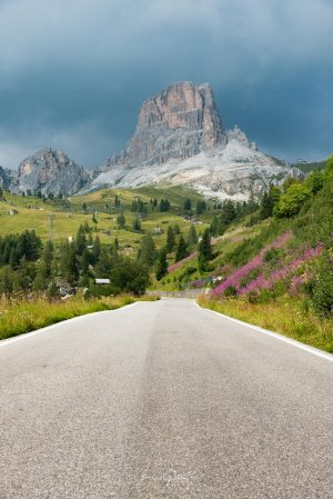 Dolomites, Road, Mountains, Brad Geddes, Brad Geddes Photography, Wall Art, Italy, Italia, Dolomiti