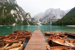 Lago di Braies, Lake, Italy, Dolomites, Dolomiti, Italia, Boat, Brad Geddes Photography