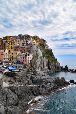 Manarola, Italy, Cinque Terre, Italia, Fishing Town, Ocean, Brad Geddes Photography