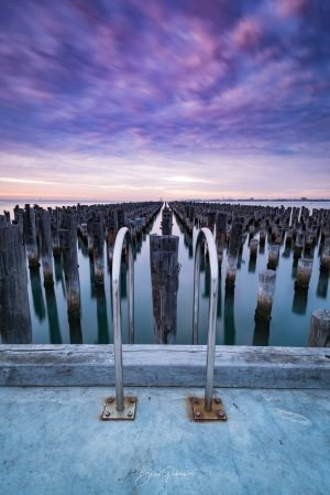 Pier, Port Melbourne, Princes Pier, Old Pier, Long Exposure