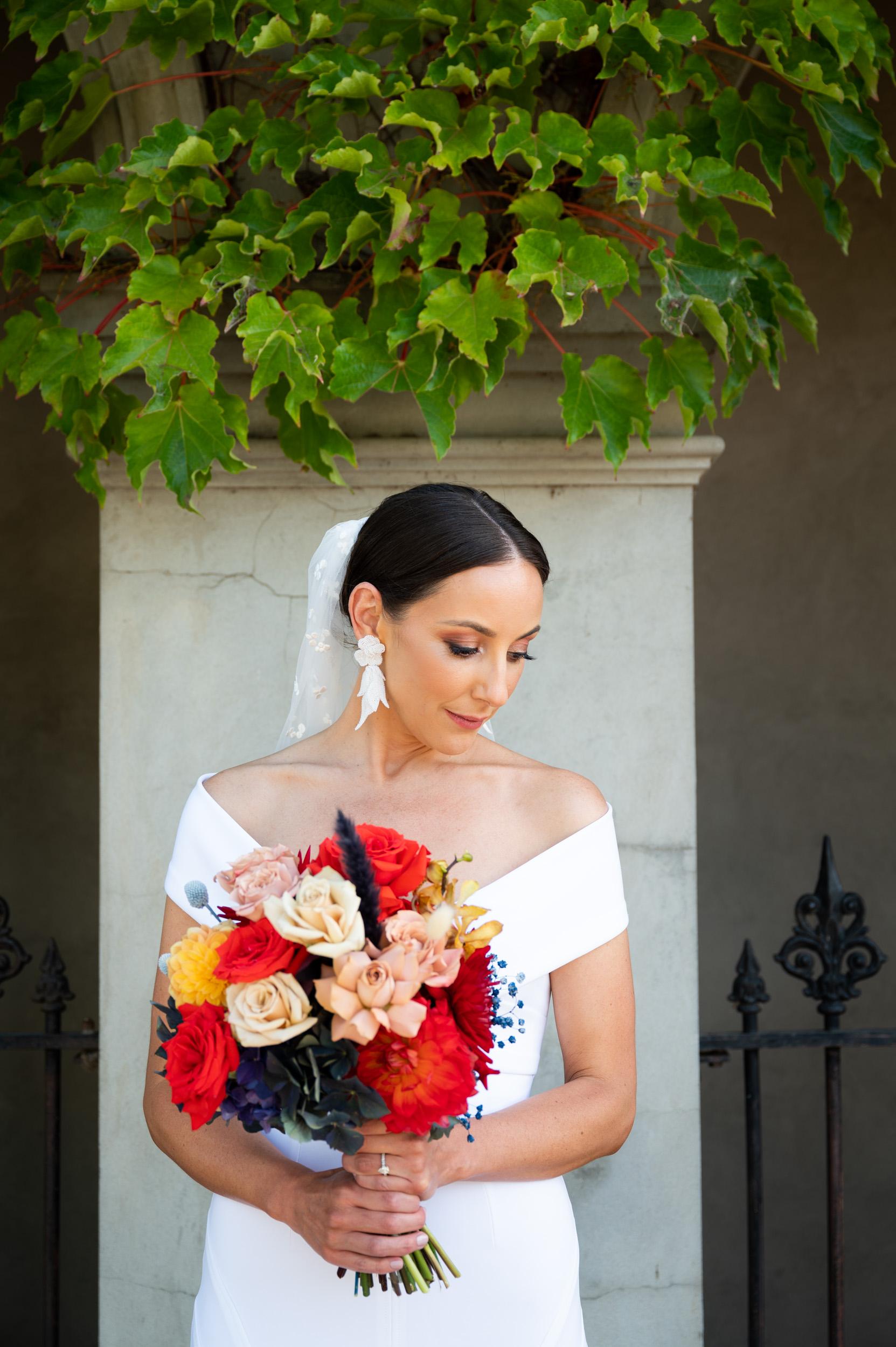 Bride, Wedding, Bouquet, Love Alfalfa Florals, Georgia Young Couture, Melbourne Wedding