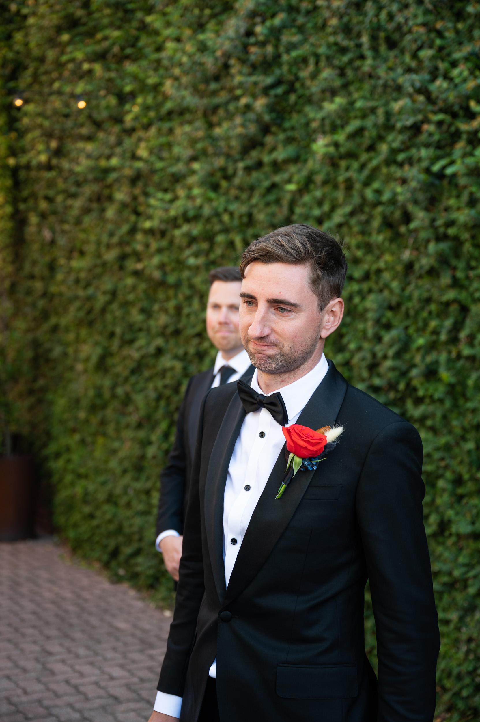 Groom, Emotion, Wedding Day, Wedding Ceremony