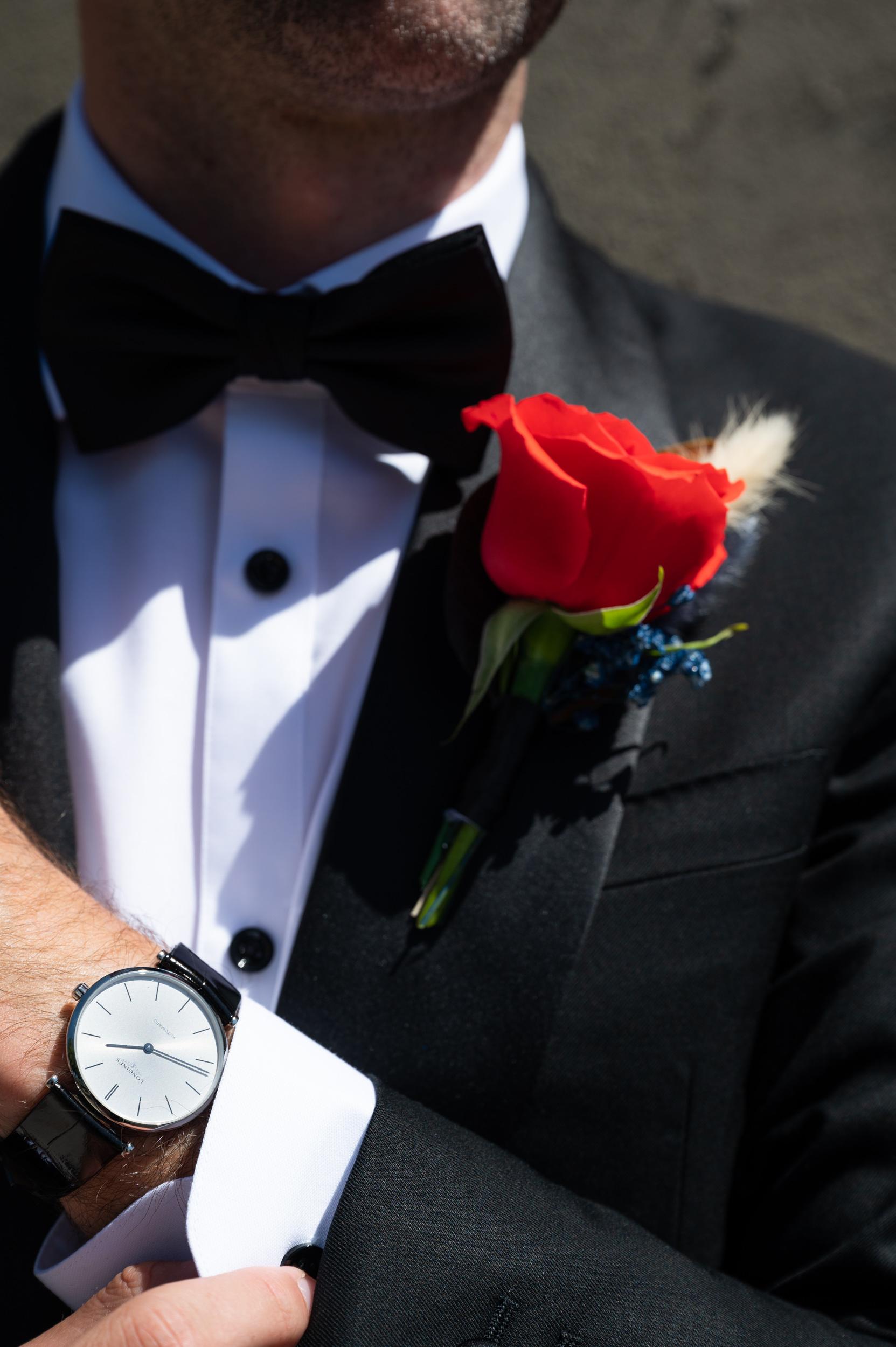 Groom, Wedding Details, Wedding Day, Melbourne Wedding, Brad Geddes Photography, Love Alfalfa Florals, Longines Watches, Longines