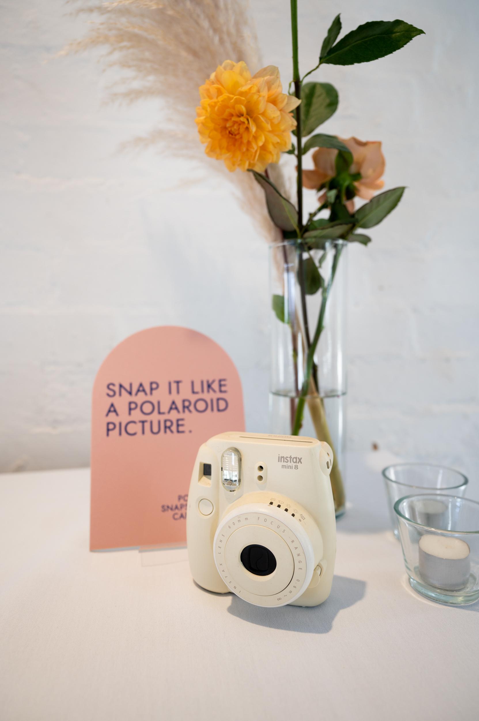 Polaroid, Wedding Reception, Wedding