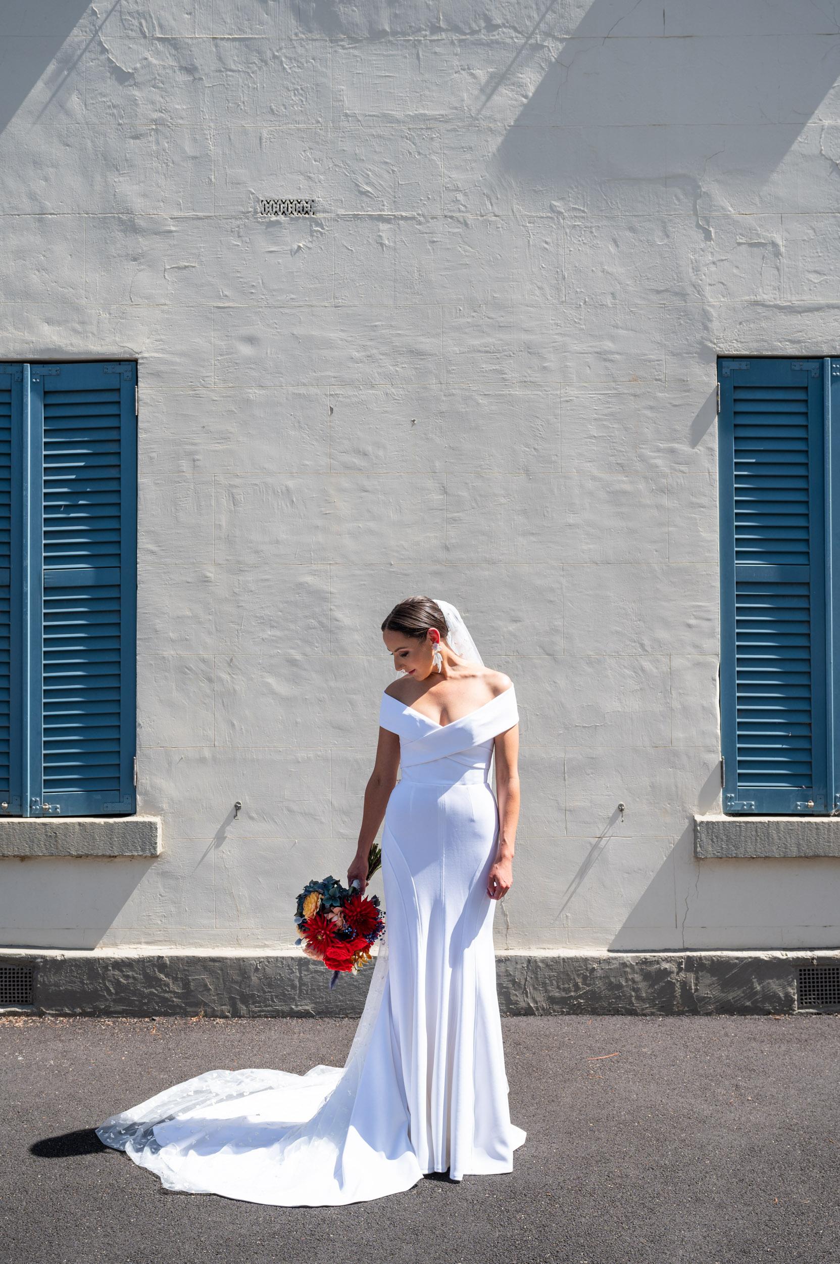 Bride, Wedding Day, Wedding Dress, Georgia Young Couture, Love Alfalfa Florals, Melbourne Wedding, Brad Geddes Photography, Wedding Bouquet