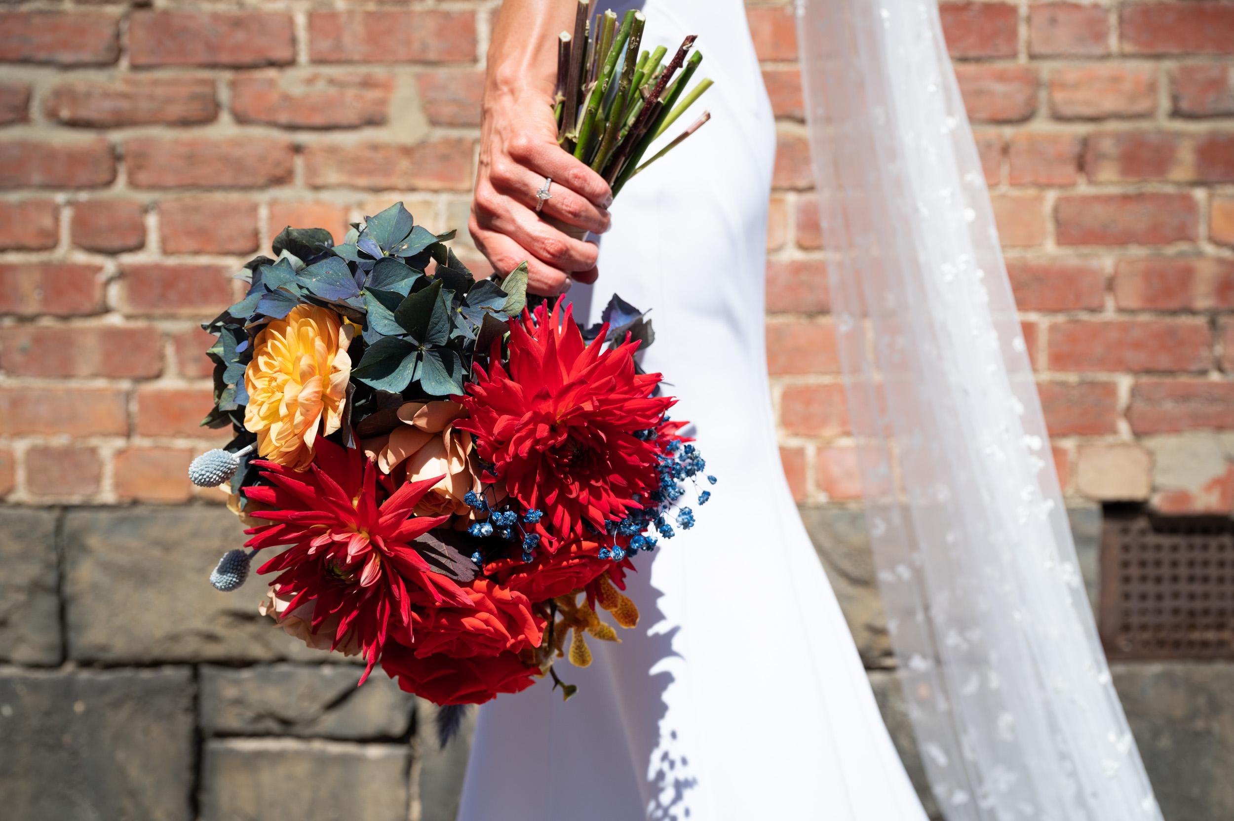 Wedding Bouquet, Bridal Shoot, Melbourne Wedding, Brad Geddes Photography, Georgia Young Couture, Love Alfalfa Florals, Bouquet